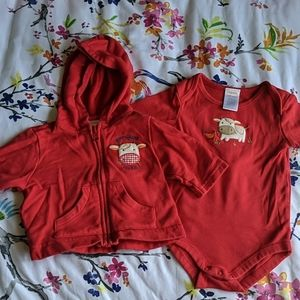 Gymboree barnyard bundle 0-3m
